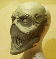Ravager Finished Sculpture by Bjoz