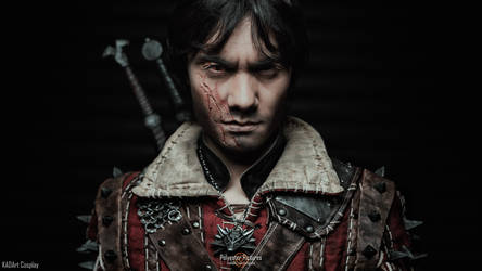 Marked an Outsider / Eskel the Witcher Cosplay by KADArt-Cosplay
