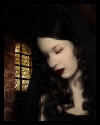 Blind Madonna by stupidg1rl