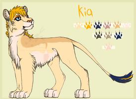 Kia - Reference Sheet by Nala91