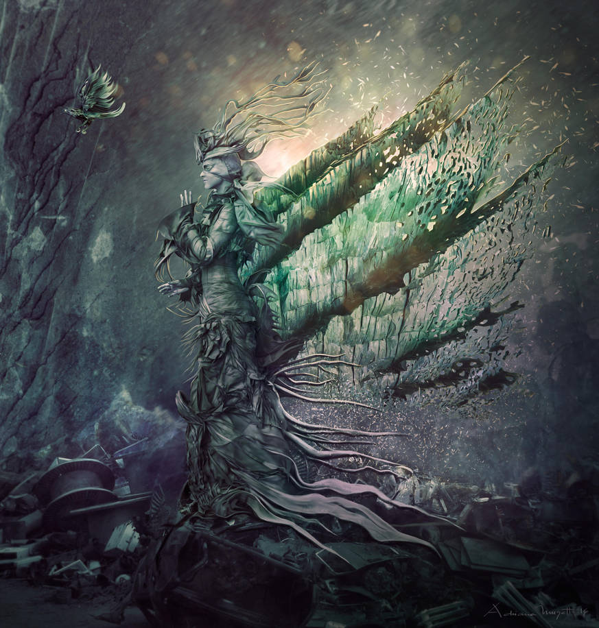 Dark hope by adrianamusettidavila