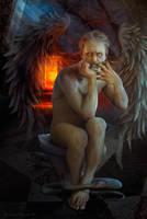 Angelus sint Corruptionem by adrianamusettidavila