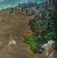 Storie di Esperia - Regional map 3 by adrianamusettidavila