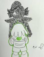 Inktober day 4: spell-Undyne by Anna-mator