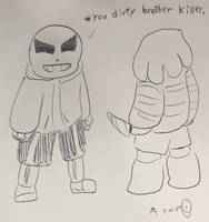 You dirty brother killer by Anna-mator