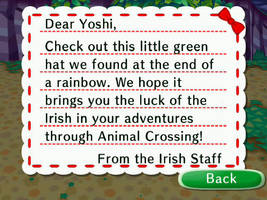 Letter From Irish Staff by theyoshifanboy
