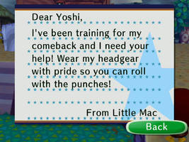 Little Mac's Letter by theyoshifanboy
