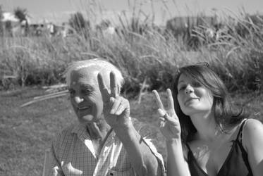 Peace, my Grandfather. by Steleamaria