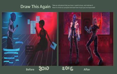 Draw This Again: Mass Effect by ReVercetti