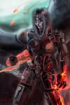The face of war [Mass Effect] by ReVercetti