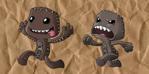 Sackboys by Fonzu
