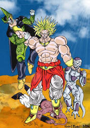 Broly - The Baddest of the Bad by Fonzu
