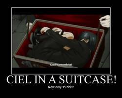 Ciel in a suitcase by deideifg