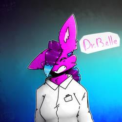 Dr. Belle (fan art) by Cherry-2005