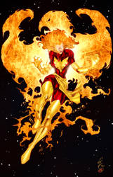 Dark Phoenix - Colors by TracyWong
