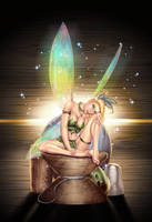 Chris Ehnot's Tinkerbell - Colors by TracyWong