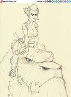 Dino Girl by sykosan