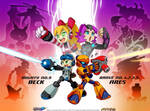 ARES and Mighty No9 Combo by sykosan