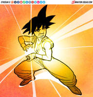 Goku Chan by sykosan