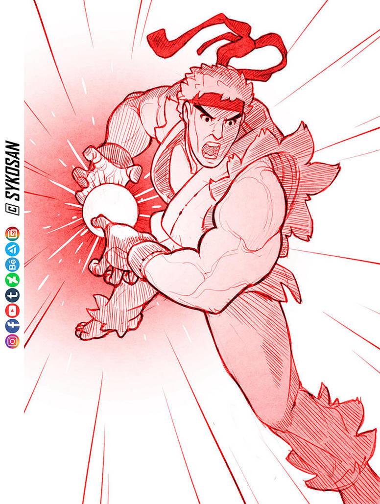 Ryu by sykosan