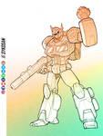 Optimus Prime by sykosan