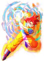 Goku La batalla de los Dioces by XYelkiltroX