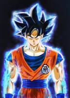 Goku - Ultra Instinct - Migatte no Gokui - DBS2018 by XYelkiltroX
