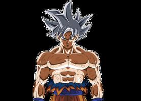 Ultra instinc mastered - Goku Render by XYelkiltroX