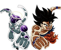 Goku V Freezer DBS Final 131 by XYelkiltroX