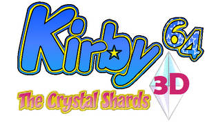 Kirby 64 3D Logo by JBX9001
