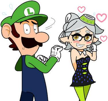 Marie and Luigi Super Stare Saga by JBX9001