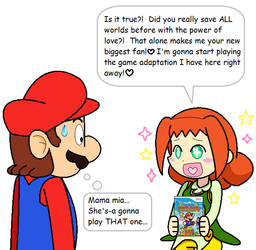 Ally's Favorite Mario Game by JBX9001