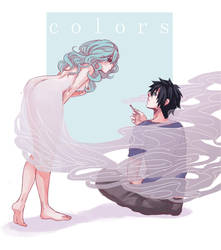 Gruvia - Colors by colored-sky