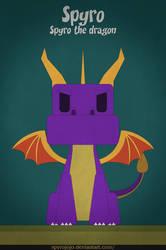 Spyro - Spyro the dragon by spyrojojo
