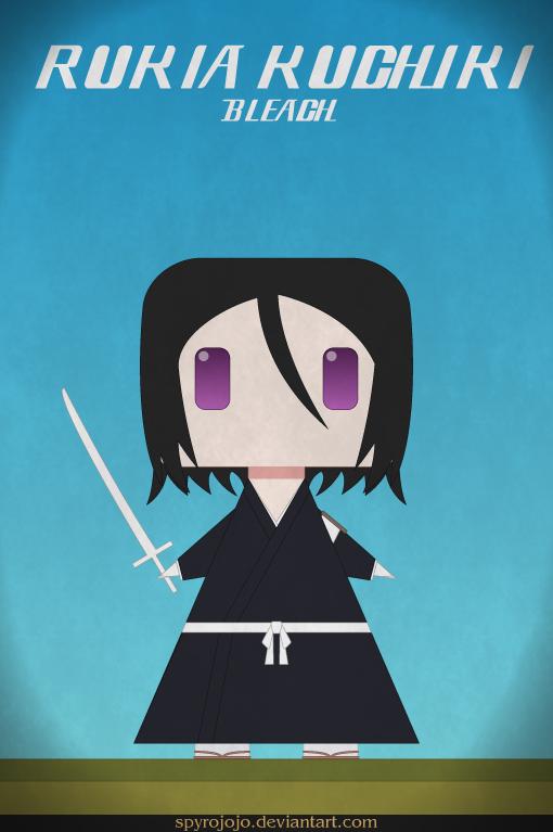 Rukia - bleach by spyrojojo
