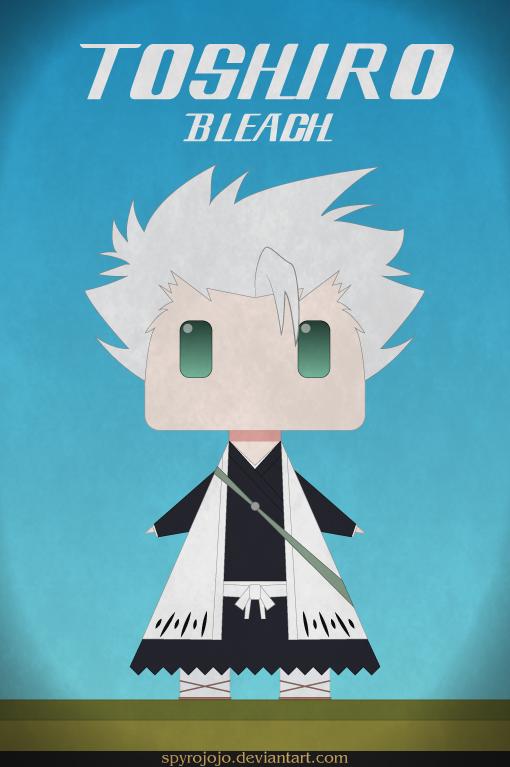 Toshiro - bleach by spyrojojo