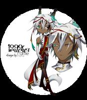 1000 WATCHER RAFFLE!! (winner rolled) by suyumona-adopts
