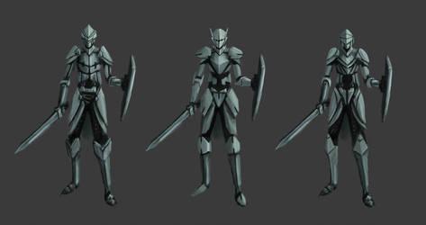 Knight Designs by LivanVellnight