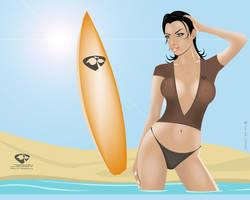 BeachGirl Wallpaper by TripleTim