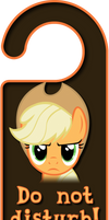 Applejack Door Knob Hanger by Thorinair