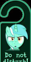 Lyra Heartstrings Door Knob Hanger by Thorinair