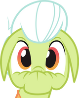 Shocked Granny Smith Vector by Thorinair