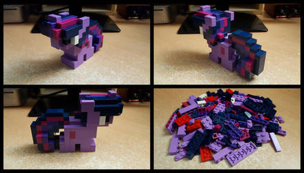 [LEGO] Pixel Twilight Sparkle by Thorinair