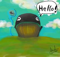 Dedramo12: Hello by Kuocomics