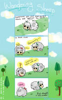 Wandering Sheep 1 by Kuocomics