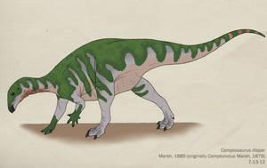 055--CAMPTOSAURUS DISPAR by Green-Mamba