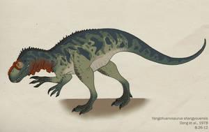 065--YANGCHUANOSAURUS SHANGYOUENSIS by Green-Mamba