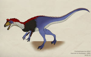 074--CRYOLOPHOSAURUS ELLIOTI by Green-Mamba