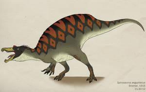 093--SPINOSAURUS AEGYPTIACUS by Green-Mamba