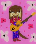 CE: Cutest folk singer? by DarkCatTheKhajjit